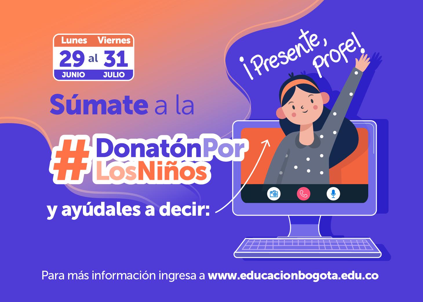 #DonatónPorLosNiños