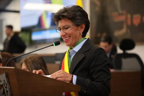 Caludia López, nueva Alcaldesa de Bogotá